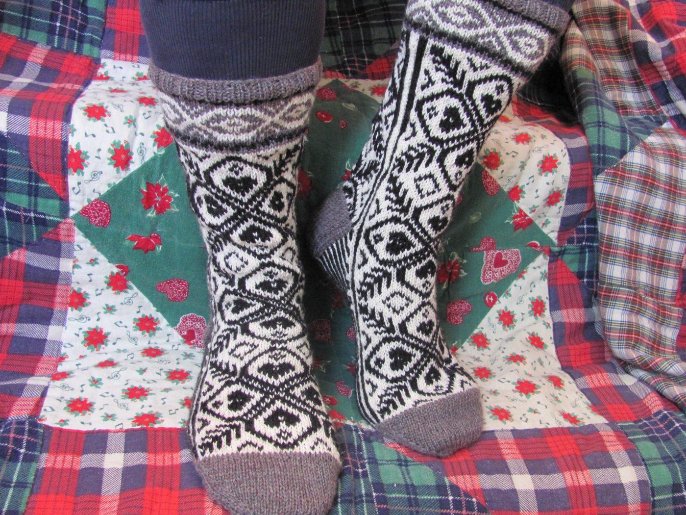 L'Univers d'une tricoteuse
