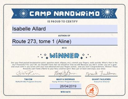 Imgage certificat