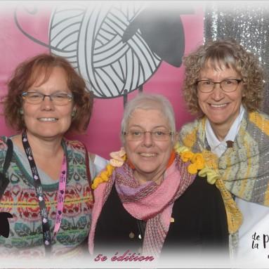 Avec Sylvie et Carmelle